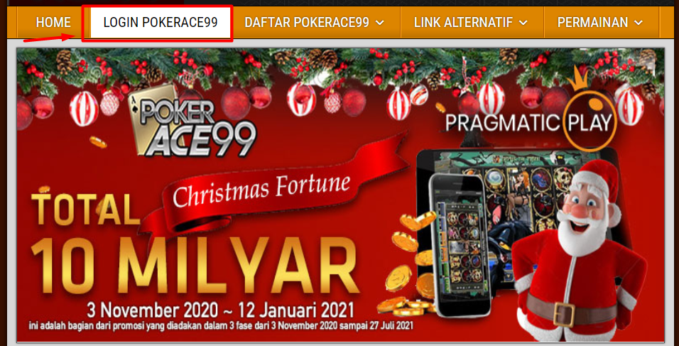 login pokerace99
